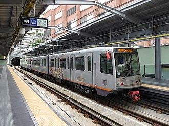 Genoa Metro - Image: Genova metro 2016 3