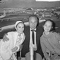 George Balanchine op Schiphol, Bestanddeelnr 918-1046.jpg