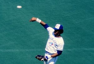 George Bell (outfielder) - Bell playing for the Blue Jays in 1985