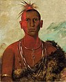 George Catlin - Náh-se-ús-kuk, Whirling Thunder, Eldest Son of Black Hawk - 1985.66.3 - Smithsonian American Art Museum.jpg