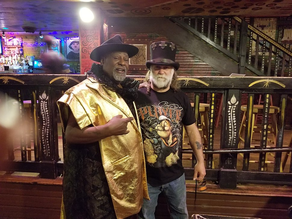 George Clinton hanging out in Orlando FL in 2018