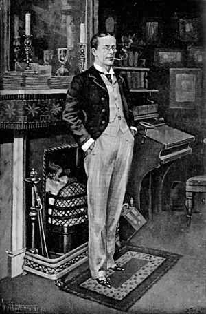 George Grossmith - Grossmith, as illustrated in The Idler magazine, 1897