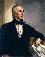 John Tyler, picture by James Reid Lambdin, 1841