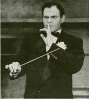 George S. Irving - Irving as Dario the conductor in Rodgers and Hammerstein's Me and Juliet in 1953