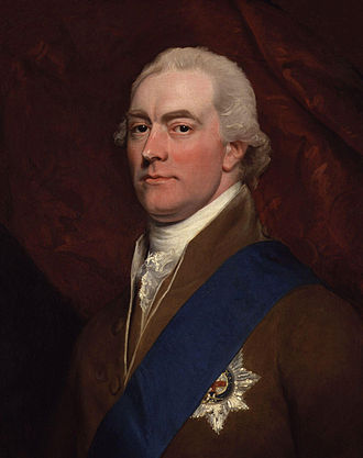 George Spencer, 2nd Earl Spencer - Lord Spencer by John Singleton Copley, 1800.