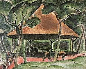 Koně v Boulogneském lesíku
