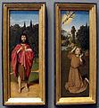 Gerard david, santi giovanni battista e francesco ricevente le stimmate, 1485-90 ca..JPG