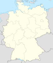 Urspringen is located in Jerman