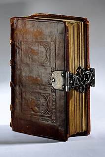 type of Christian devotional book, popular in the Middle Ages