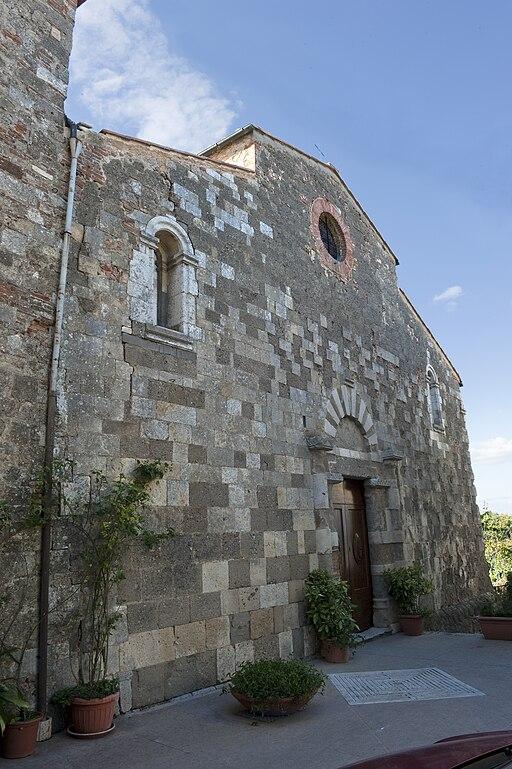 Facciata San Giovanni Battista (Mensano)