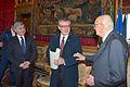 Giorgio Napolitano, Joseph H.H. Weiler and Pasquale Ferrara (12769608195).jpg