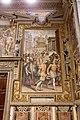 Giorgio vasari, prima storia della notte di san bartolomeo, 1573, 00 ammiraglio gaspard ferito.jpg