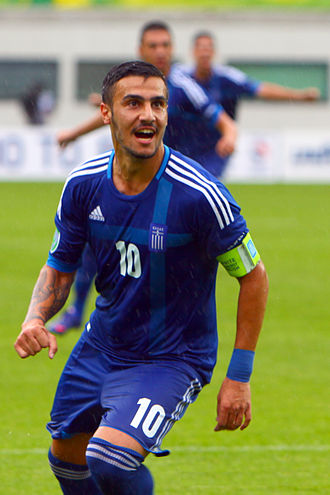 Giorgos Katidis - Katidis with Greece in 2012 UEFA Euro U19