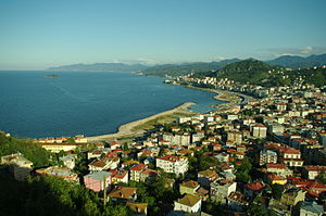 Giresun - General view of eastern part of Giresun city