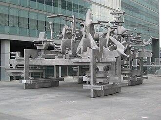 Bruno Gironcoli - Sculpture by Bruno Gironcoli.