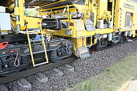 Gleisbauzug von Plasser & Theurer nahe Bahnhof Osterholz-Scharmbeck 12.JPG