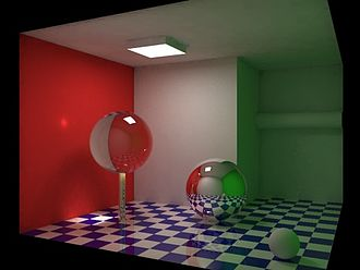 Global illumination - Image: Global illumination