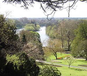 Glover's Island - Glover's Island from Richmond Hill, Richmond