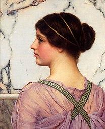 GODWARD John William A Grecian Lovely 1909