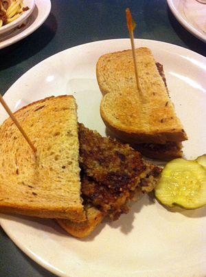 Goetta - Goetta sandwich