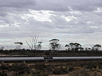 C. Y. O'Connor - Goldfields Pipeline along Great Eastern Highway