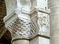 Gournay-en-Bray (76), collégiale St-Hildevert, nef, chapiteaux du 3e pilier libre du sud, côté est.jpg