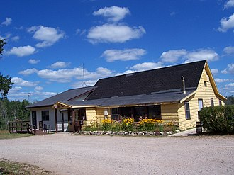 Governor Thompson State Park - Image: Governor Thompson State Park Headquarters August 2008