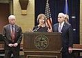 Governor Mark Dayton appoints Lt. Governor Tina Smith to the U.S. Senate (39035441961).jpg