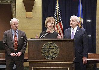 Tina Smith - Dayton appointing Smith to the Senate