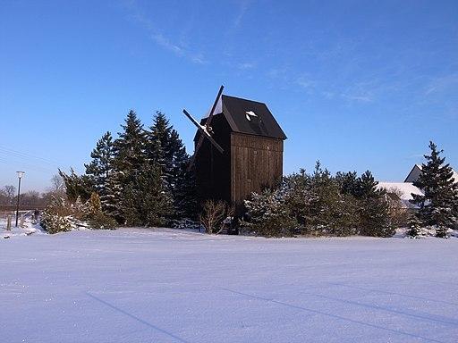 Gräfenhainichen,Preußer'sche Bockwindmühle
