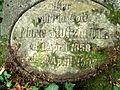 Grabmal für Marie Stutzmann Großtante von Wilhelm Moufang junior, Bergfriedhof Heidelberg 0586.JPG