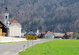 Grad, Cerklje na Gorenjskem Place in Upper Carniola, Slovenia