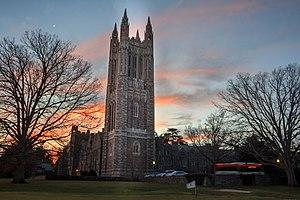 Princeton University Graduate College - Image: Graduate college sunset