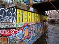 Graffiti on the North End of the Bridge - panoramio.jpg