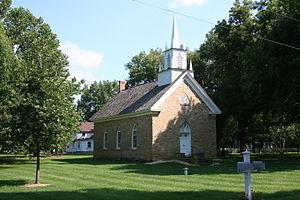 Grand Detour, Illinois - St. Peter's Episcopal Church in Grand Detour