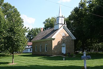 Grand Detour, Illinois - St. Peter's Episcopal Church in Grand Detour