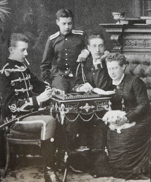 File:Grand Duke Dimitri Constantinovicand his siblings.JPG
