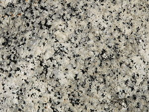 Phanerite - Close-up of granite, a phanerite rock, from Yosemite National Park in the U.S.