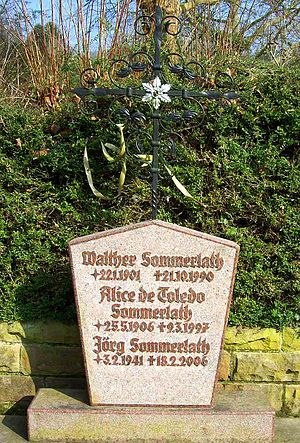 Walther Sommerlath - Grave of Walther and Alice Sommerlath