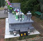 Grave of Krzysztofa Borowiec at Central Cemetery in Sanok 1.jpg