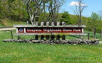 Grayson Highlands State Park - Grayson Highlands State Park.
