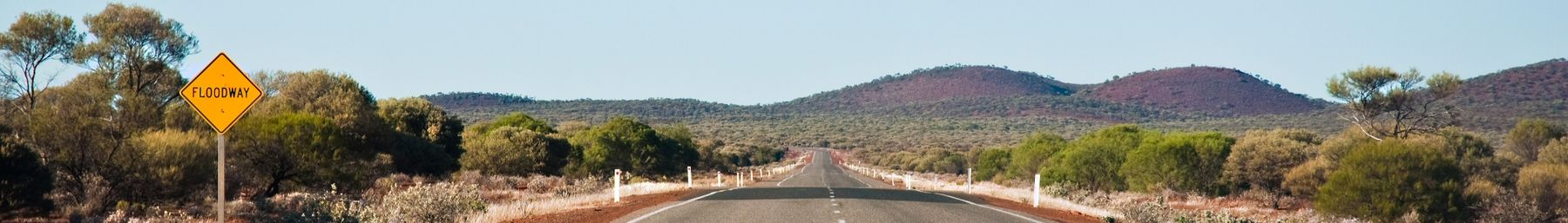 View of Great Northern Highway near Payne's Find, Western Australia