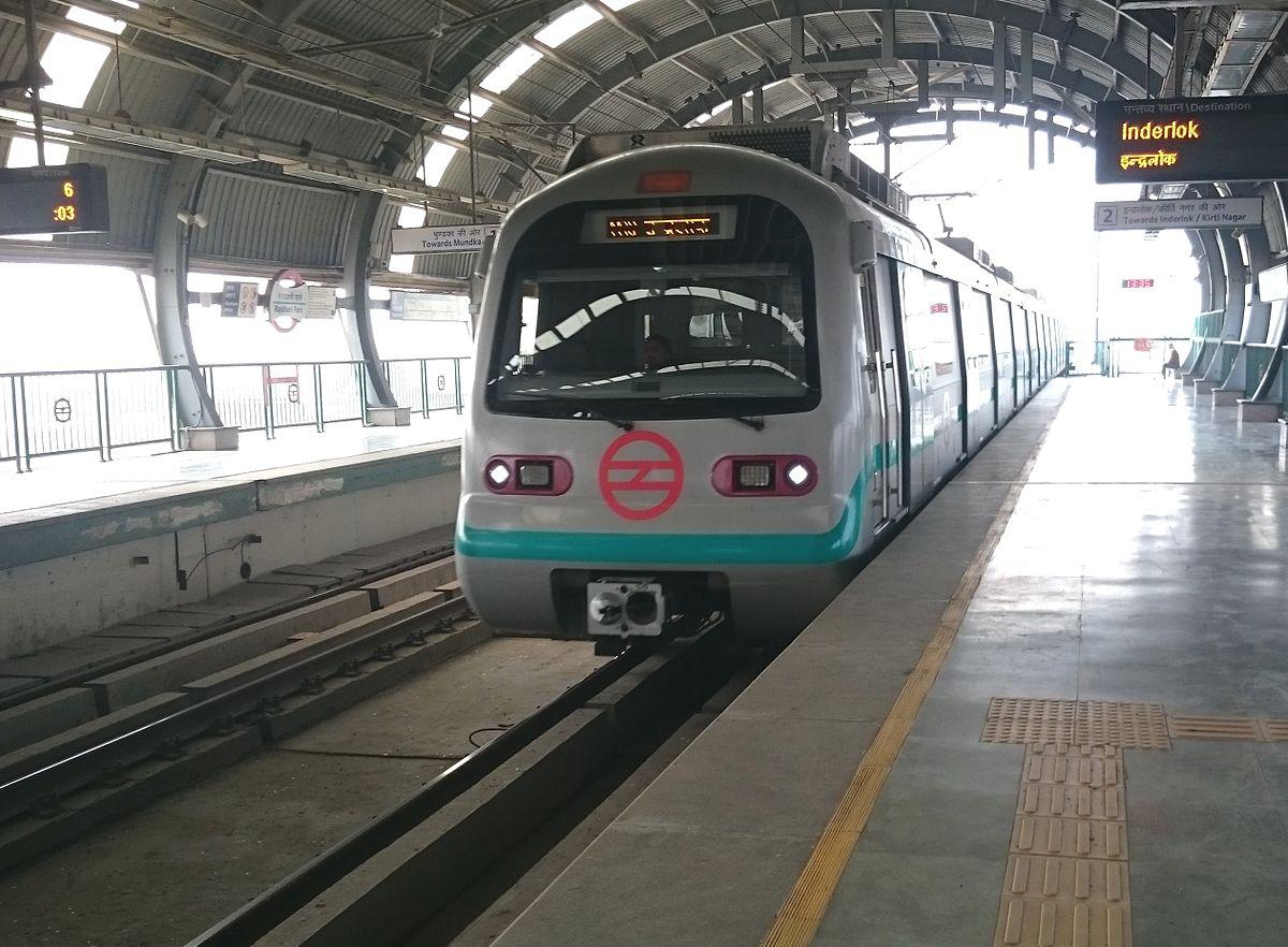 Green Line (Delhi Metro) - Wikipedia