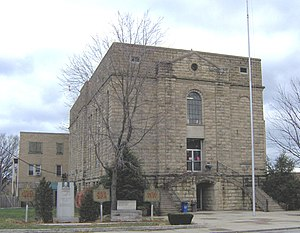 Greenup County, Kentucky - Image: Greenup County, Kentucky courthouse