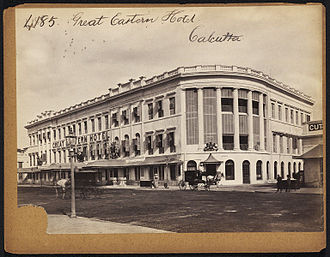 Great Eastern Hotel (Kolkata) - Another image, taken between 1850 and 1870