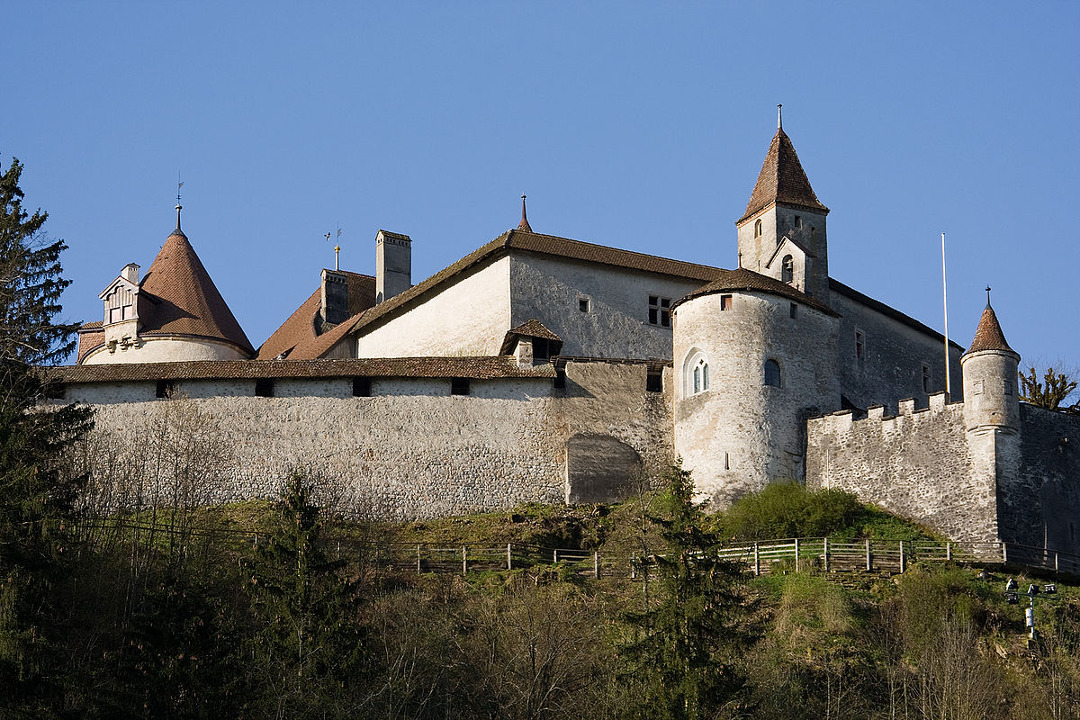 Gruyères Castle - Wikipedia