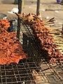 Grilled meat ( kebab) in Ghana.jpg