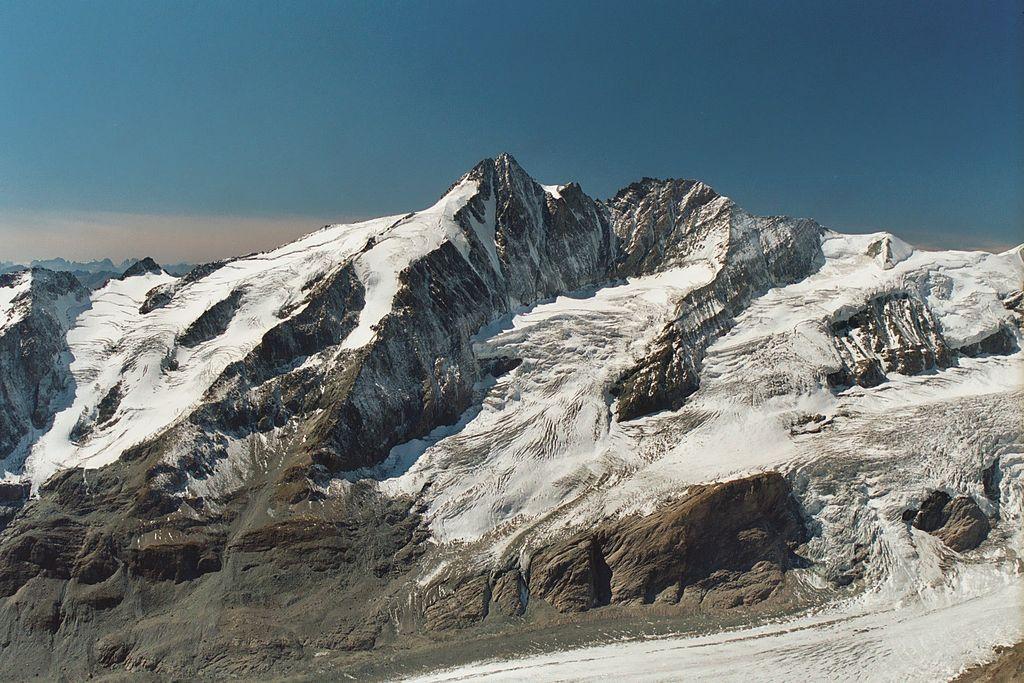 Kandidat für das UNESCO-Welterbe in Kärnten: Nationalpark Hohe Tauern. Großglockner vom Fuscherkarkopf
