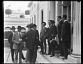 Group, including William E. Borah, at White House, Washington, D.C. LCCN2016891702.jpg