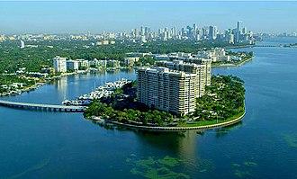 Grove Isle - Grove Isle lies in Biscayne Bay, Miami, Fl.